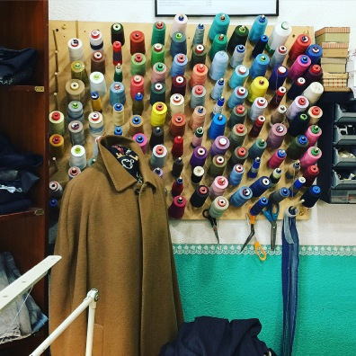 This Madrid tailor wall
