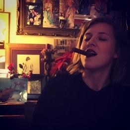 This smokey Christmas night. PH mamma