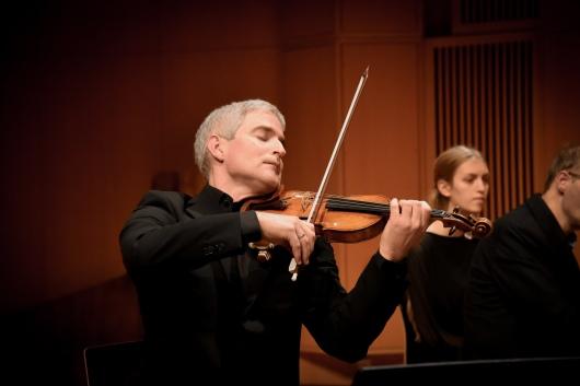 Kolbjørn Holthe loving his chamber music